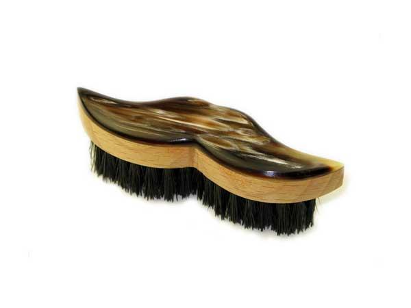 Abbeyhorn Oxhorn Moustache Brush