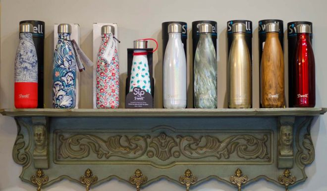 Swell bottles in Abrahams Store