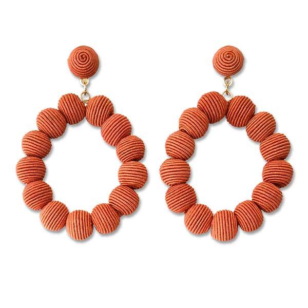 Narratives Burnt Orange Earrings