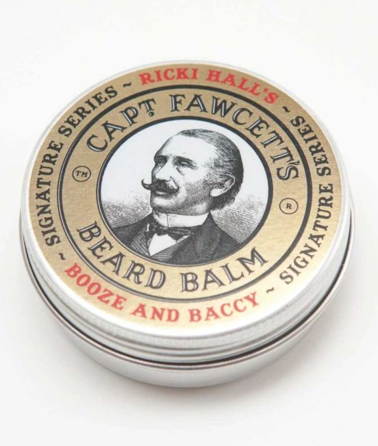 "Abrahams Store stocks Captain Fawcett ""Ricki Hall"" Booze & Baccy Beard Balm"