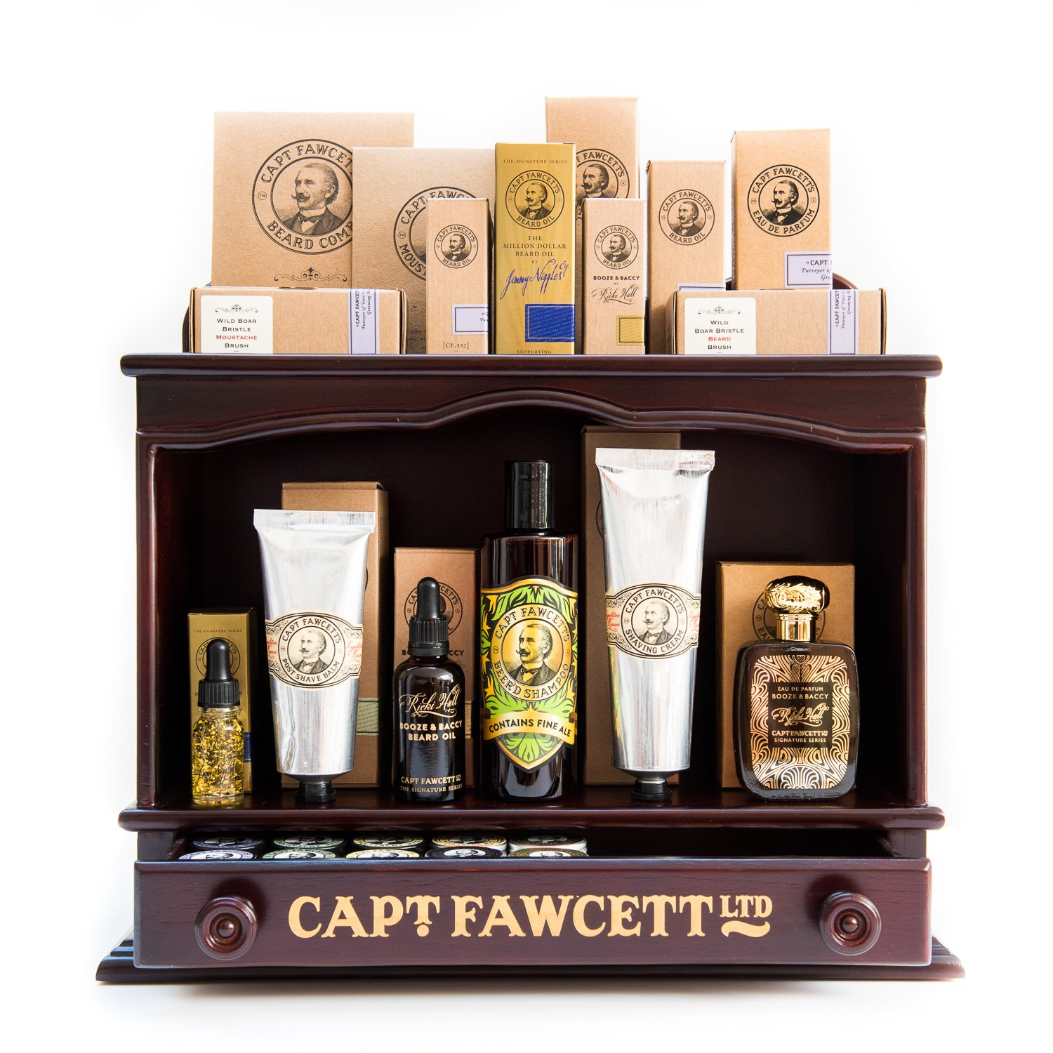 Captain Fawcett Collection of Mens Grooming Products