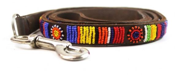 Beaded Aspiga masai collar - Clasp