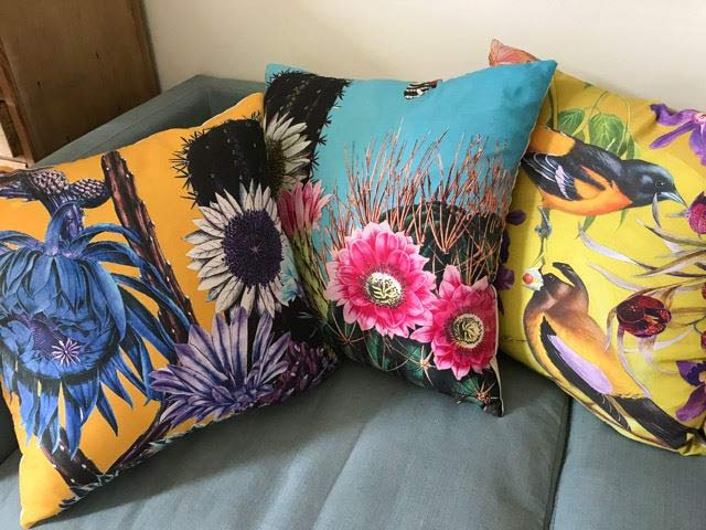 Diana Wilson assorted cushions