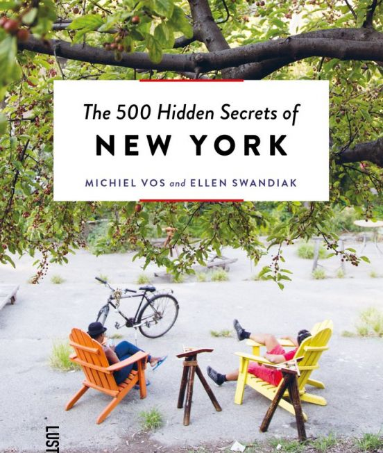 Cover of 500 Hidden Secrets of New York