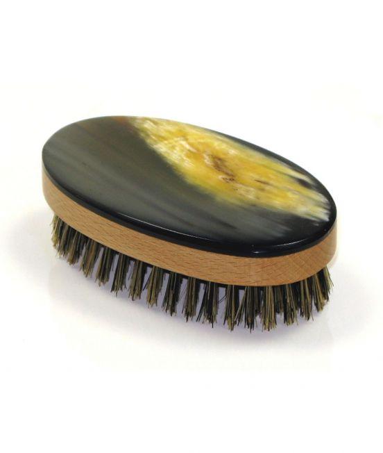 Abbeyhorn Oxhorn Hairbrush - Oval