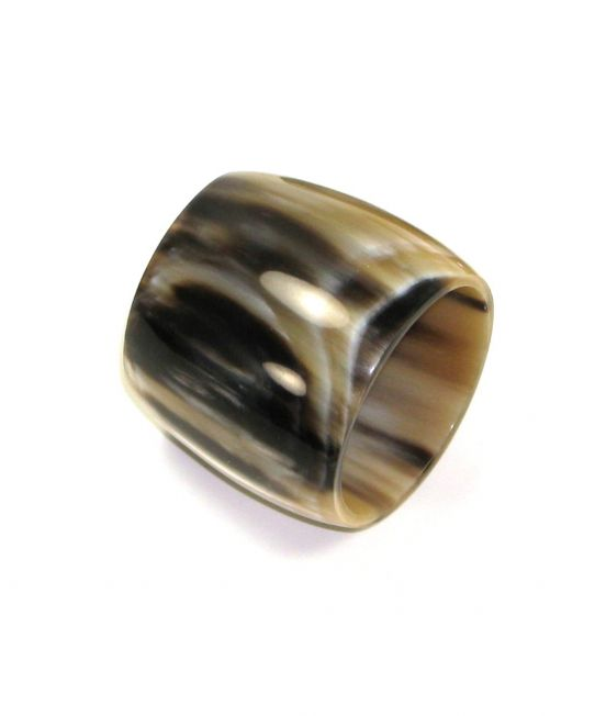Abbeyhorn Oxhorn Napkin Ring