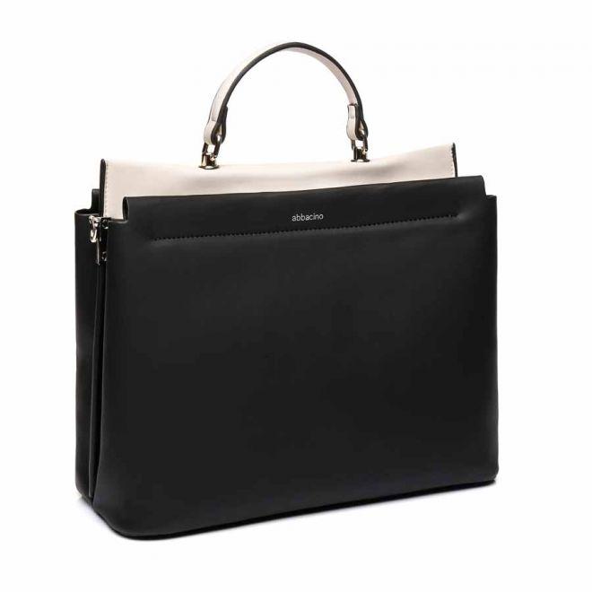Abbacino black office-style shopper bag