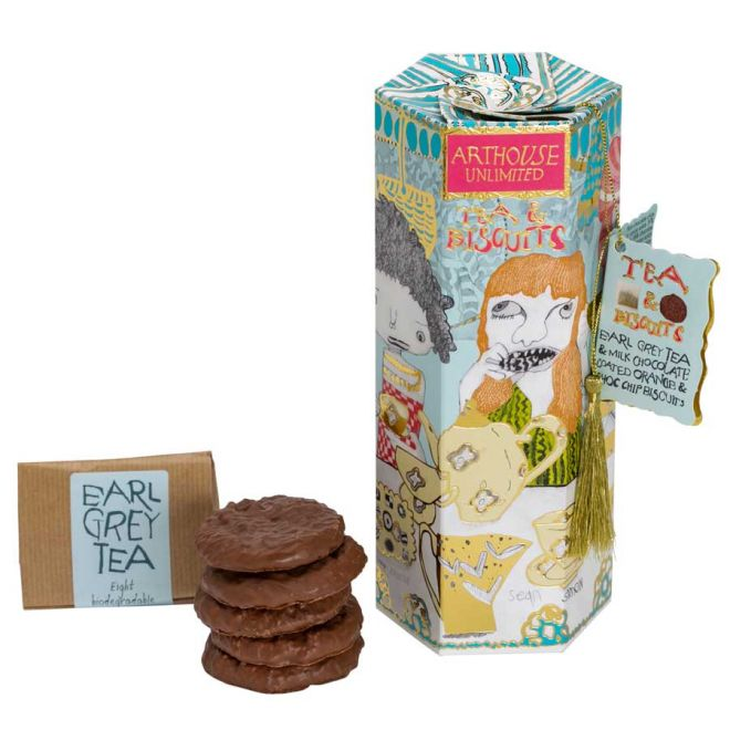 Arthouse Unlimited Earl Grey & Chocolate Orange Biscuits