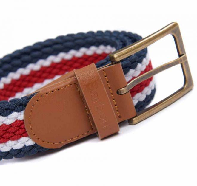 Barbour striped Ford belt