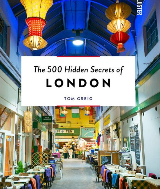 Front Cover - 500 Hidden Secrets of London