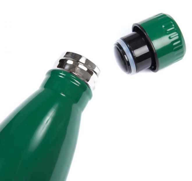 Barbour green water bottle