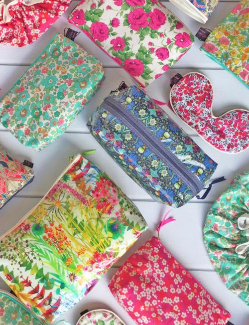Liberty Print Bags, Purses & Hot Water Bottles
