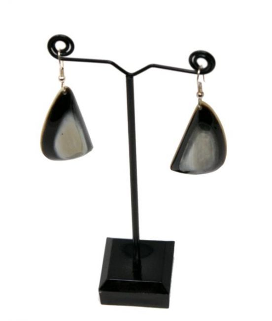 A Pair of Ox Horn Earrings