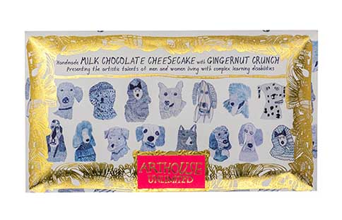 Ingredients of Arthouse Blue Dogs Chocolate