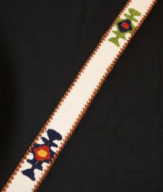 Guatamalan Maya belt in oat