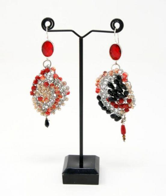 Palizzi Catona Earrings - an asymetric pair