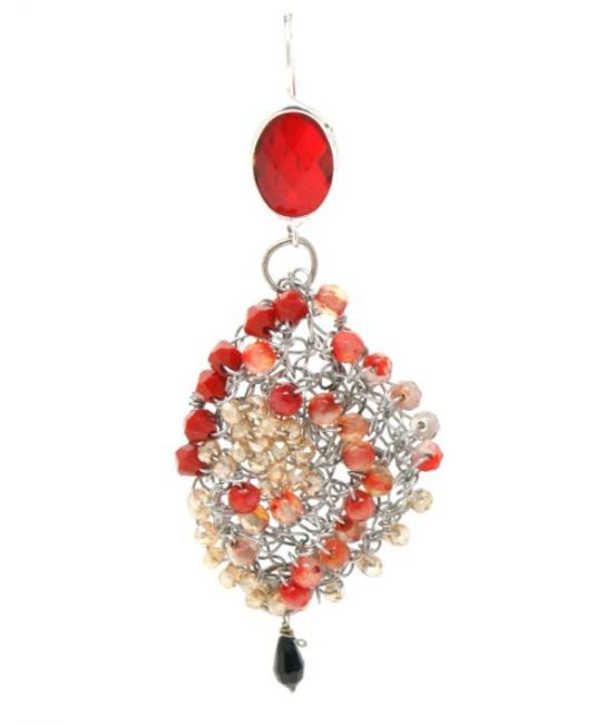 Palizzi Catona Earring - one of an asymetric pair