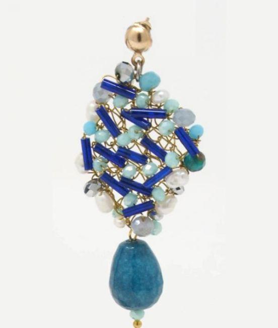 Palizzi Bagnara Earrings - Close up