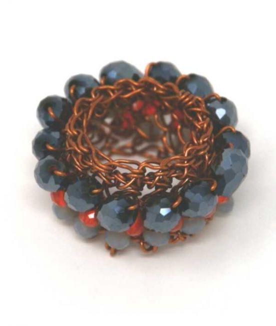 Palizzi Copper Ring
