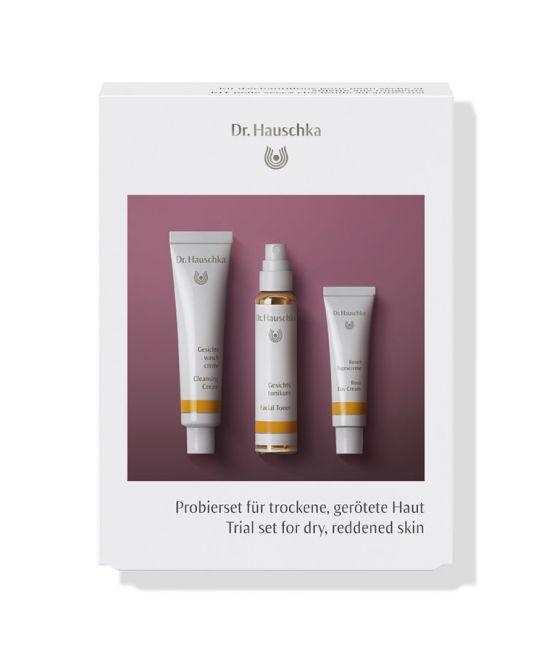 Probierset für trockene, gerötete Haut Set FS DE-GB WEB; Trial