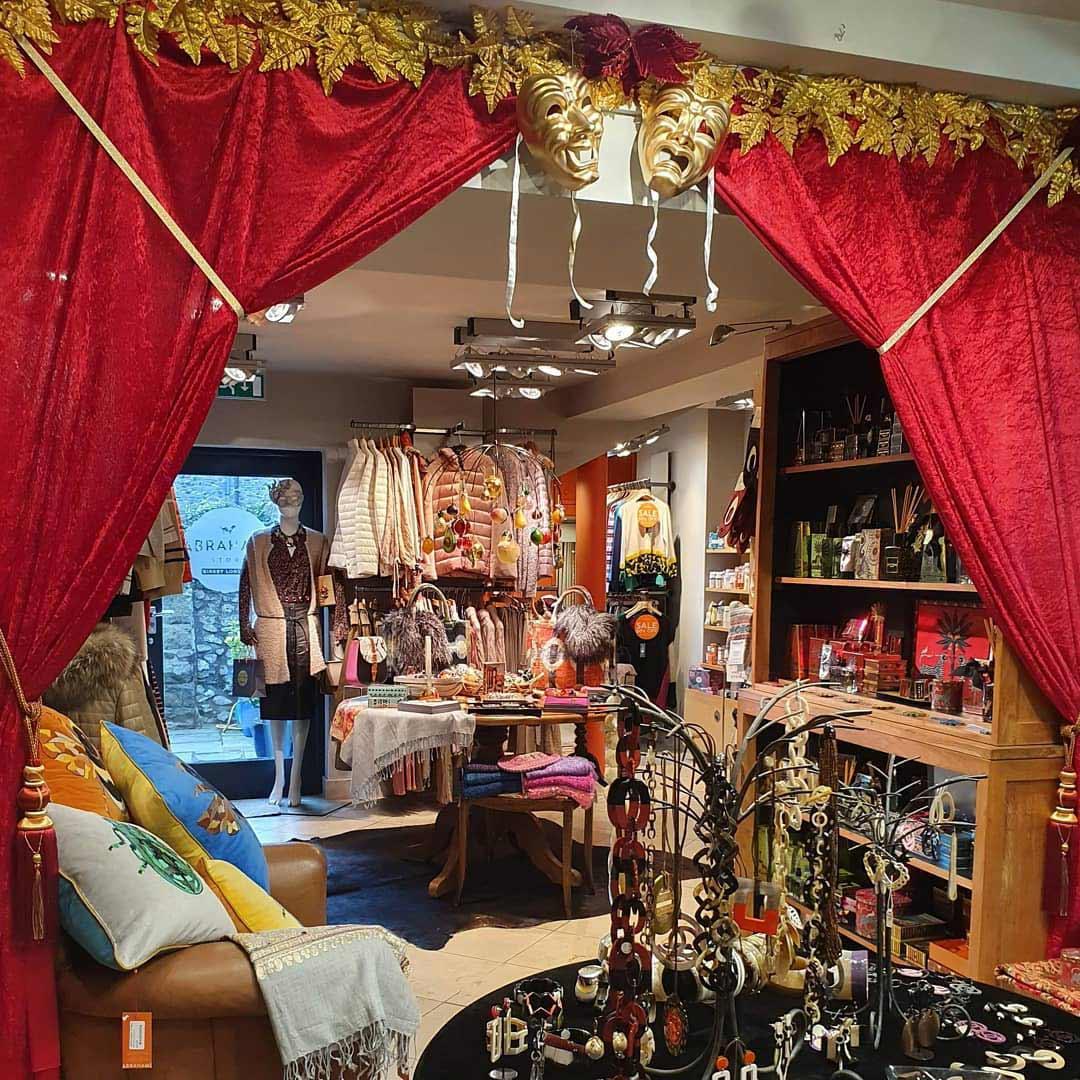 Abrahams Store Interior Christmas 2020