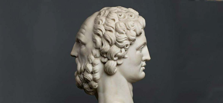 Bust of the Roman God Janus