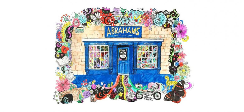Abrahams shop front sketch