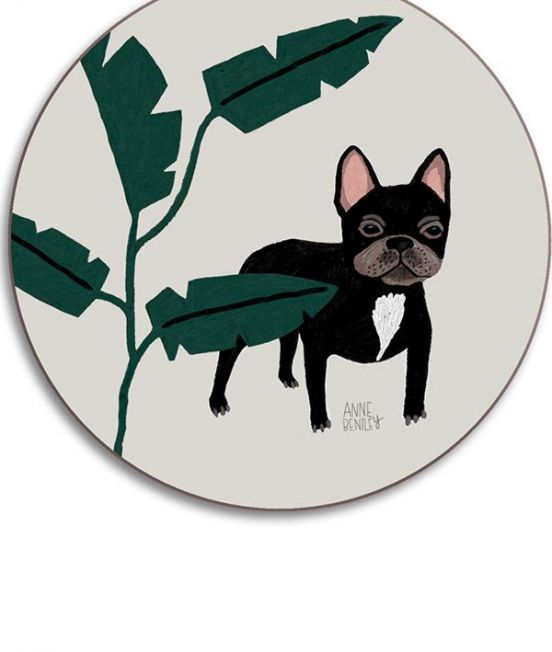 Dog Coasters by Anne Bentley