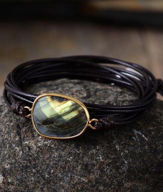Bracelet - smokey quartz