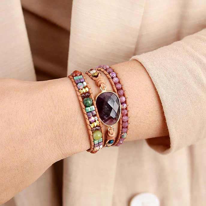 SS2021 Jewellery | Stone Bracelets